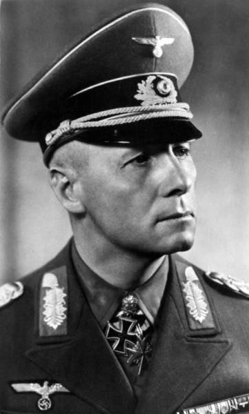 Erwin Rommel (*15.November 1891, †14.Oktober 1944), Quelle: Unbekannt, Lizenz: CC BY-SA 3.0 de