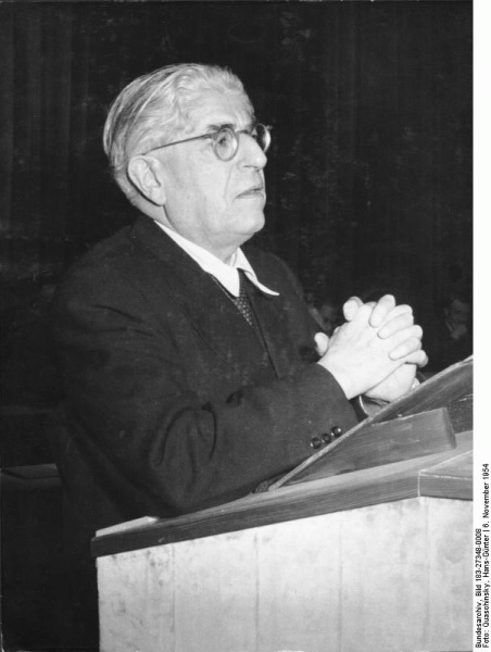 Ernst Bloch (*08. Juli 1885, †04. August 1977), Quelle: Quaschinsky, Hans-Günter, Lizenz: CC BY-SA 3.0 de