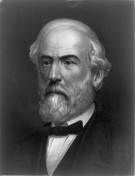 Robert Edward Lee (*19.Januar 1807, †12.Oktober 1870), Lizenz: Public domain