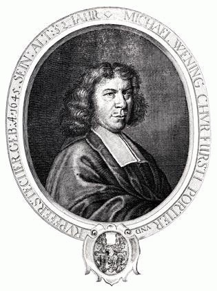 Michael Wening (*11. Juli 1645, †18. April 1718), Quelle: unknown / неизвестно, Lizenz: Public domain
