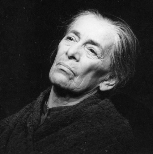 Helene Weigel (*12.Mai 1900, †06.Mai 1971), Quelle: Abraham Pisarek, Lizenz: CC BY-SA 3.0 de