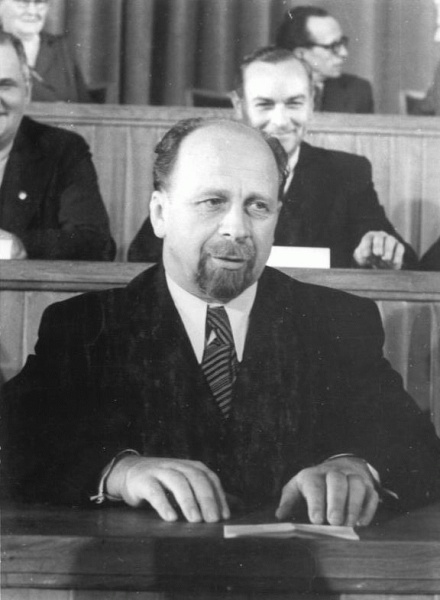 Walter Ulbricht (*30.Juni 1893, †01.August 1973), Quelle: Sturm, Horst, Lizenz: CC BY-SA 3.0 de